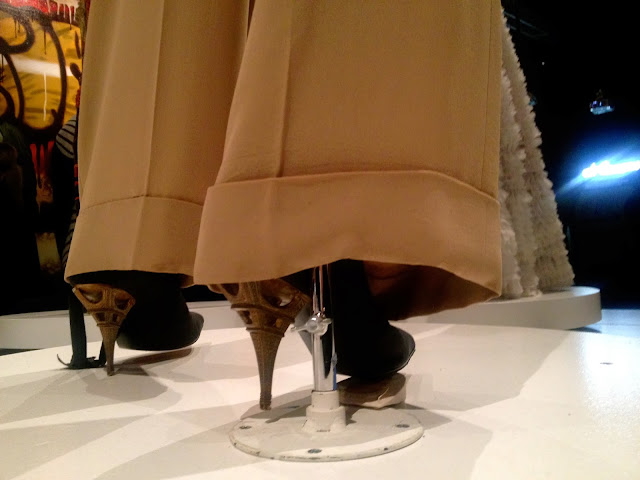 The Eiffel Tower heel, Jean Paul Gaultier Exhibit, Brooklyn Museum, 2013
