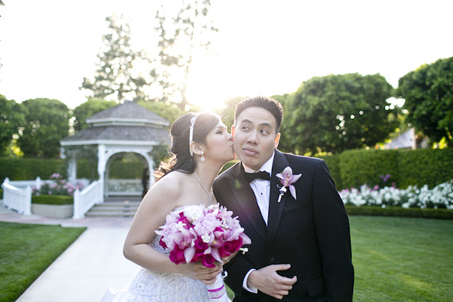 Rose Garden - Disneyland Wedding {Sarina Love Photography}
