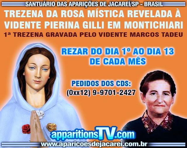 TREZENA DA SENHORA ROSA MÍSTICA