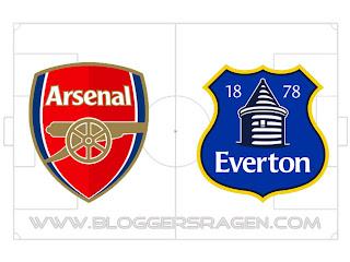 Prediksi Pertandingan Everton vs Arsenal