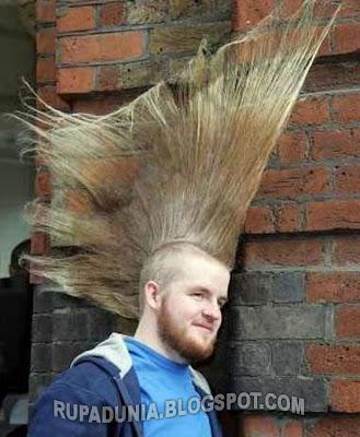 Rambut Paling Keren dan Gokil