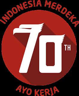 Pasang Logo HUT RI Ke-70 Di Blogger