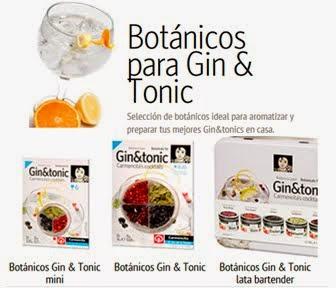BOTÁNICOS PARA GIN & TONIC CARMENCITA