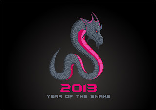干支の蛇のイラスト cartoon and stylized snake illustrations 2013 New Year  イラスト素材5