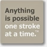Anything is possible one stroke at a time.