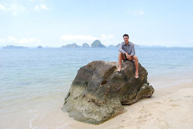 Пляж Туп Каек, Tup Kaek beach.