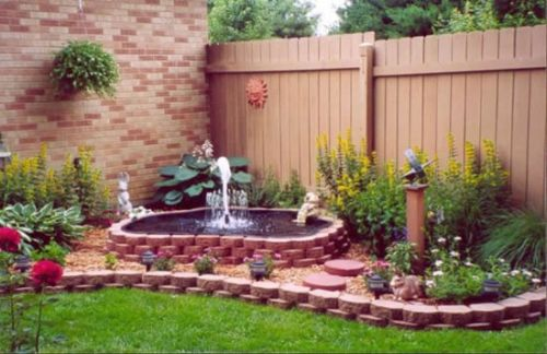 Gentil Garden Fountains At Home