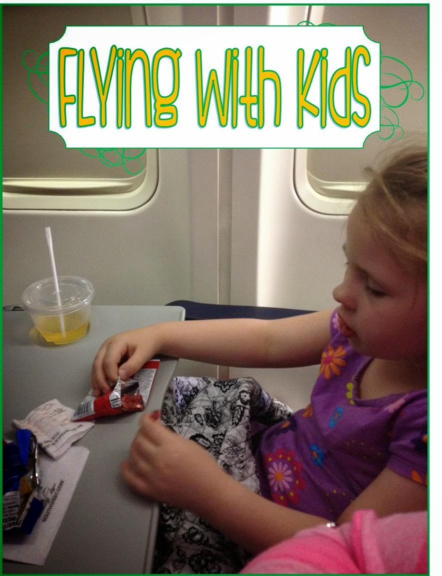 Tips and tricks for flying with young children - www.lifeinrandombits.com