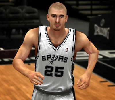 NBA 2K14 Nando de Colo Cyberface Mod