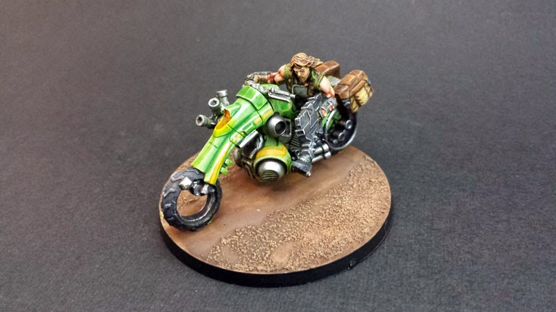 KUM MOTORIZED TROOPS - HAQQISLAM - INFINITY THE GAME 1