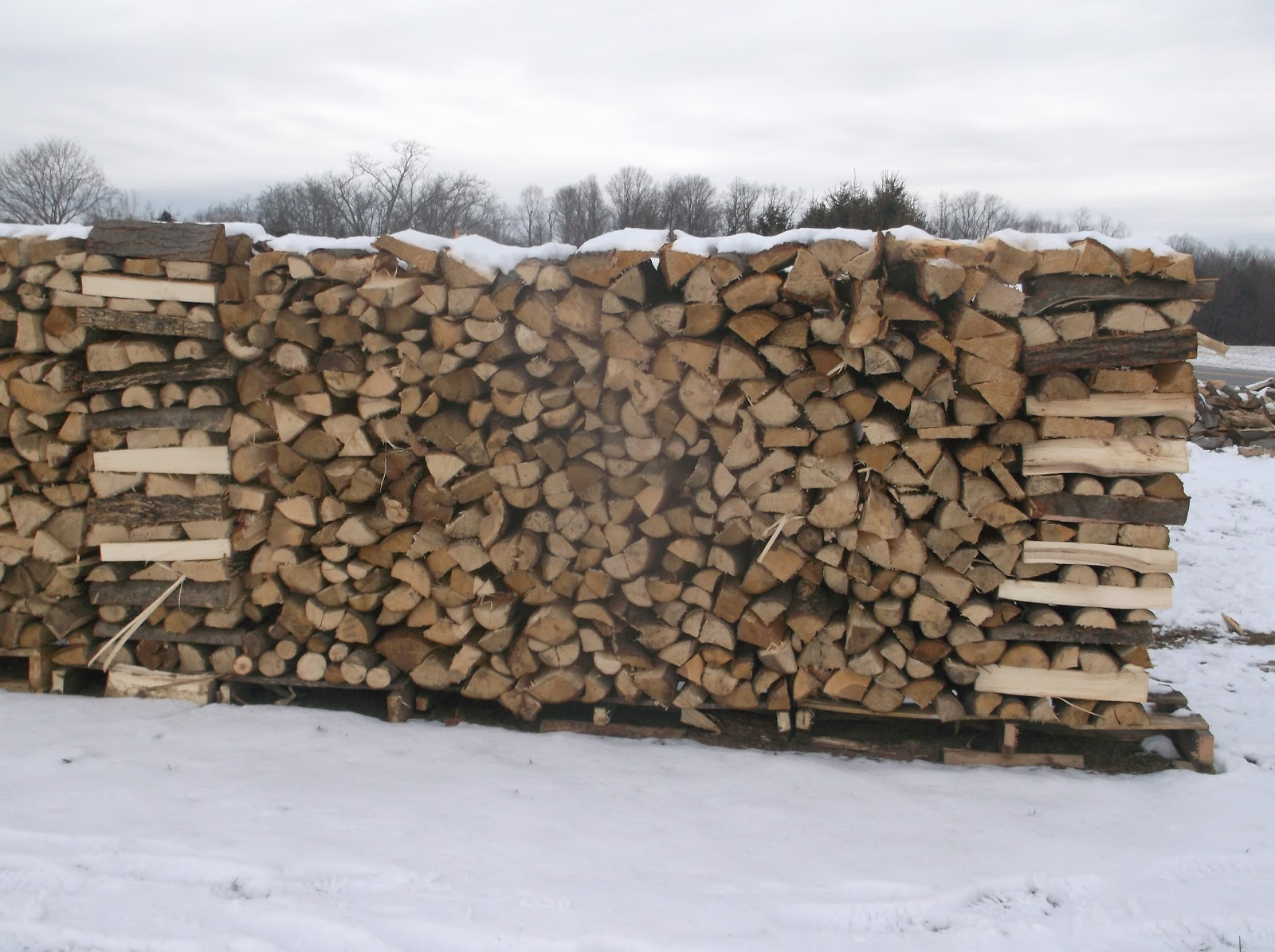 Bryk city landscaping firewood
