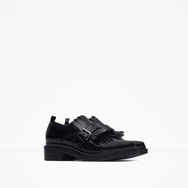 zapatos castellanos hebilla zara