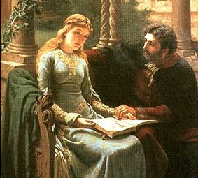Most Famous Immortal Love Stories In History And Literature Eloise and Abelard