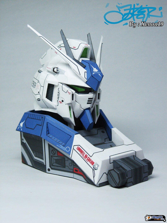 Gundam Bust Paper Model
