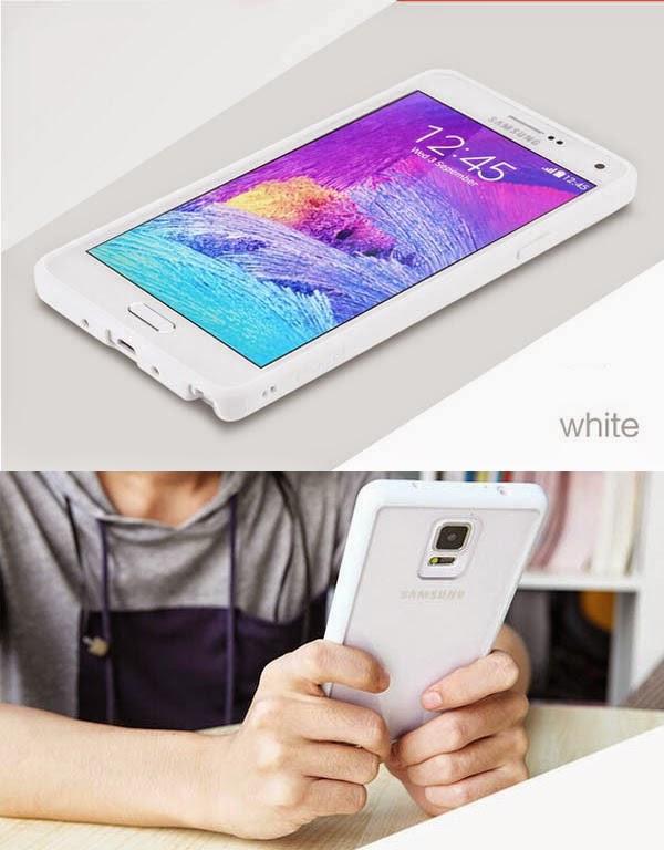 เคส Note 4 พร้อมส่ง 127003 สีขาว