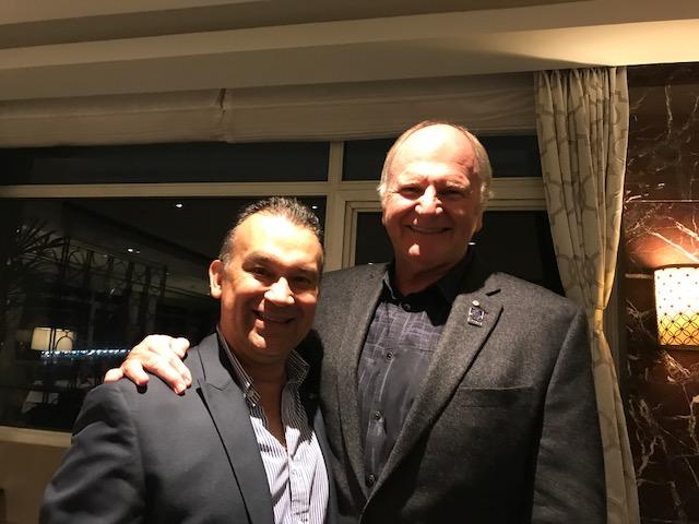 Con Peter Wilson, Presidente la Federación Mundial de Asociaciones de Gestión Humana.