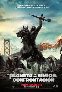 El Planeta de los Simios: La Confrontación – El Amanecer del Planeta de los Simios
