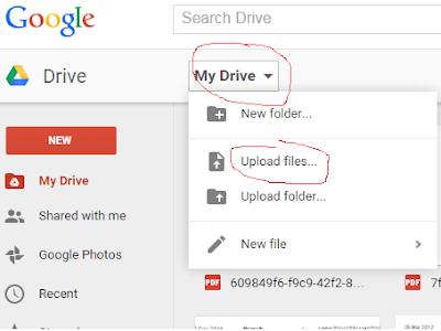 Cara Guna Google Drive Untuk Berkongsi Dokumen Secara Online