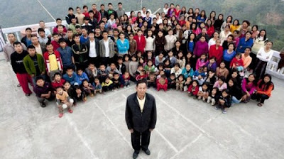 World's Biggest Family With 39 Wives, 94 Children and 33 Grandchild in China Seen On www.coolpicturegallery.us