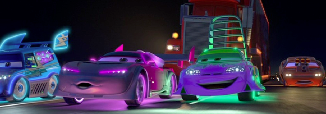 Dan the Pixar Fan: Cars: DJ, Boost, Wingo and Snot Rod