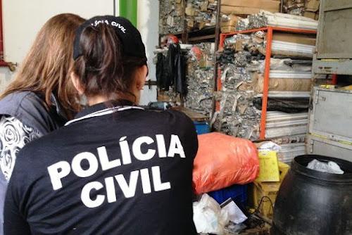 SANTA CRUZ DO SUL - EMPRESÁRIO É PRESO POR CRIME AMBIENTAL, APÓS ESTOCAR DE FORMA IRREGULAR RESÍDUOS TÓXICO E PERIGOSO