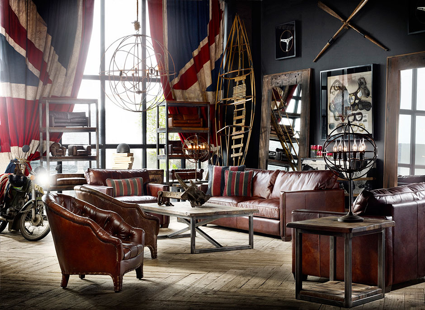 classic living room designed by timothy oulton - The Living Room Cafe