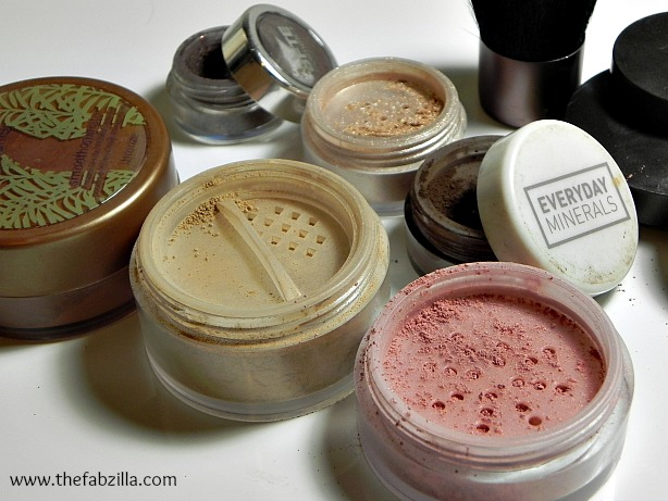 best powder makeups, natural, mineral makeups, alma pure, tarte, everyday minerals