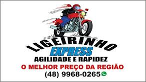 apoio ligeirinho express empresa moto boy