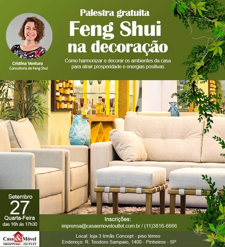 Feng Shui na Decoração - Palestra GRÁTIS