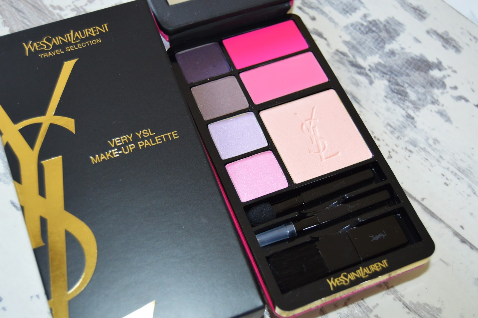 YSL 'Very YSL' Travel Make-Up Palette Review