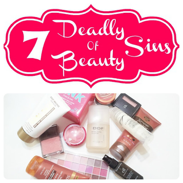 7 Deadly Sins Of Beauty Tag