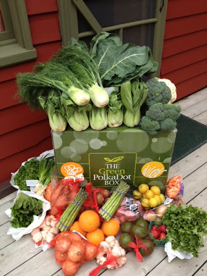 Backed by the Organic Consumer's Association and EnvironmentalBooty.com, at the Green PolkaDot Box, you can easily buy NonGMO organic groceries, including Harvest Fresh Organic produce, at wholesale pricing online.