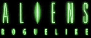 Aliens Roguelike Logo Cover