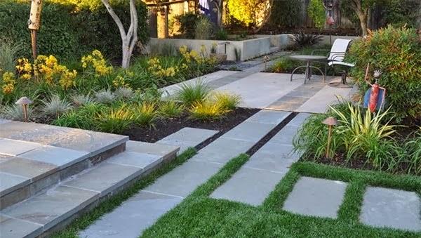 Desain Taman Rumah Minimalis Sederhana 2