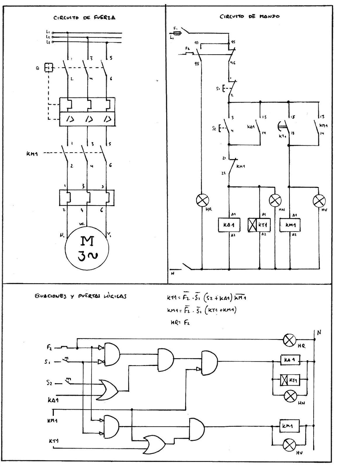 Pr ctica 4 4 arranque motor con retardo electr nico for Motor para cascada
