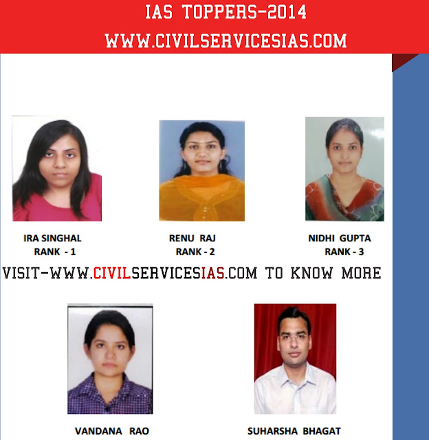 IAS TOPPER 2014,IAS TOPPER CIVIL SERVICES EXAM 2014 -2015,UPSC TOPPER
