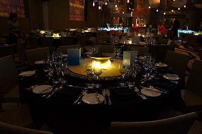 table setting - safari dinner - event design by objet bart