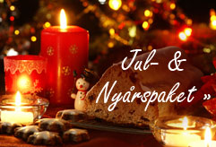 Julbordspaket och jul- & nyårsfirande!