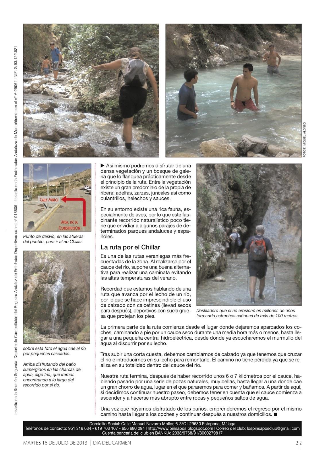 Los Pinsapos - Senderismo y Naturaleza: julio 2013