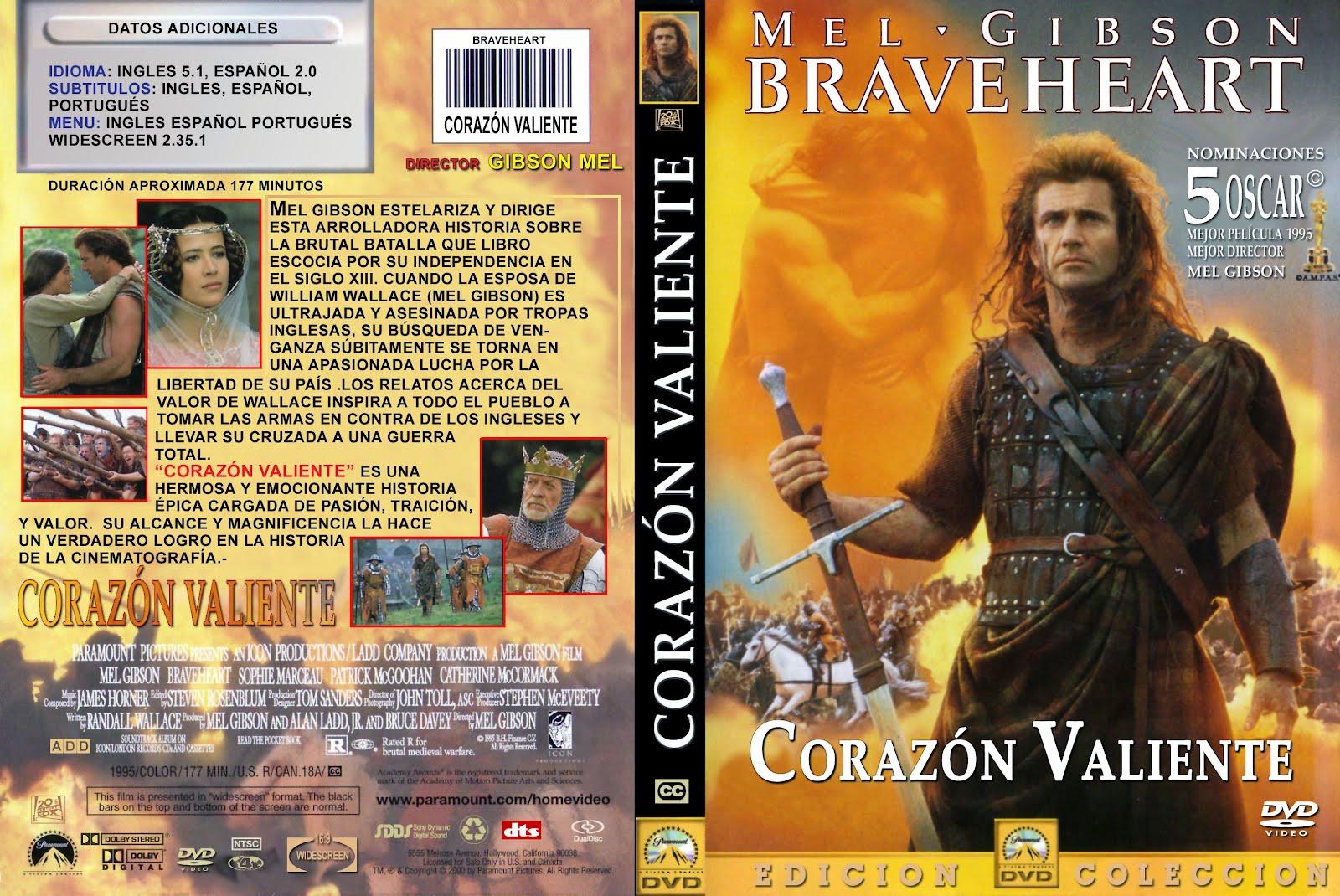 Corazon valiente braveheart 1995 dvdfull pl identi Corazon valiente pelicula