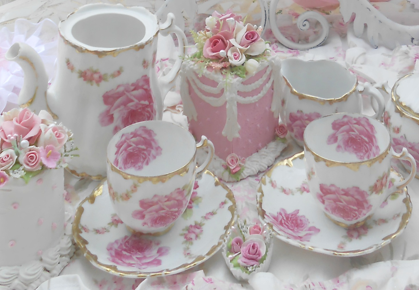 Olivia S Romantic Home Rose Garden Tea Party