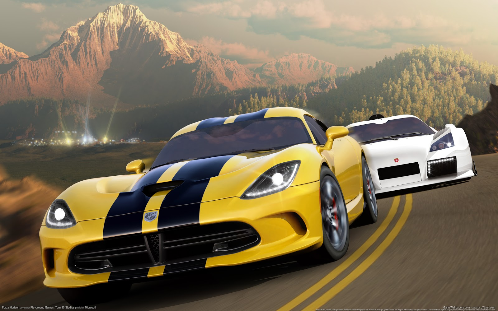 Forza Horizon HD & Widescreen Wallpaper 0.578585185811302