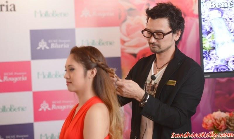 Bene Premium Bluria, Bene Premium Rougeria, MoltoBene in Malaysia, MoltoBene, Hair Care, Japan Hair Product, zebra square, akeshi Odera san, professional hairstylist, Number 76 Style Salon
