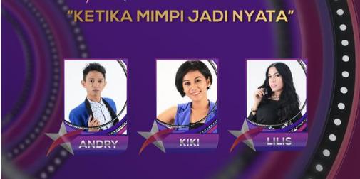 Peserta Bintang Pantura yang Turun Panggung Tgl 08 Juni 2015 - Babak 9 Besar