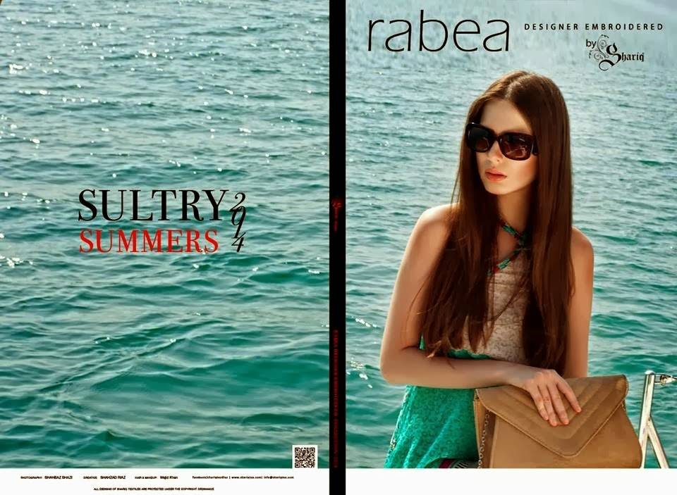 Rabea Summer Collection 2014 By Shariq Textile
