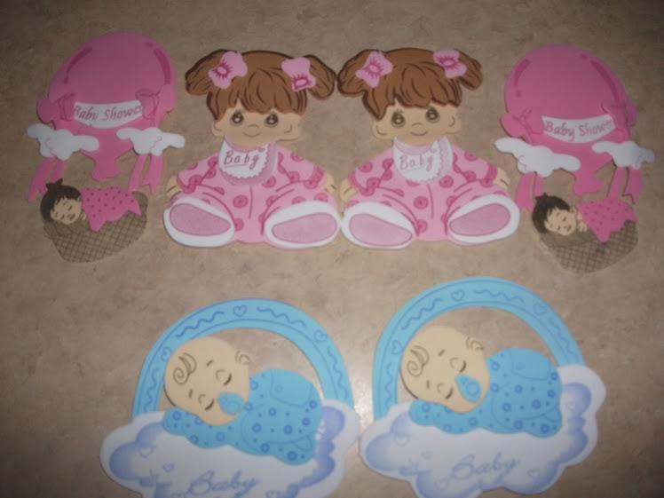 Areglos de fomi para baby shower - Imagui