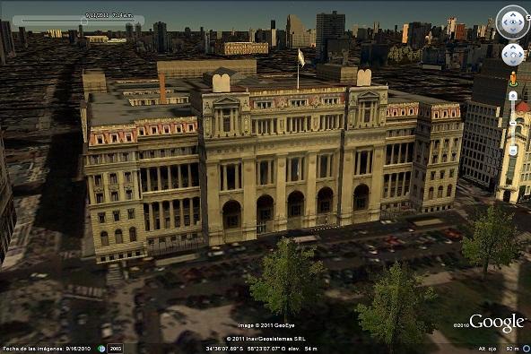 Palacio de Justicia en Google Earth