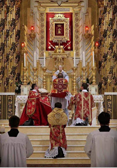 In the Eucharist we become one with Christ.