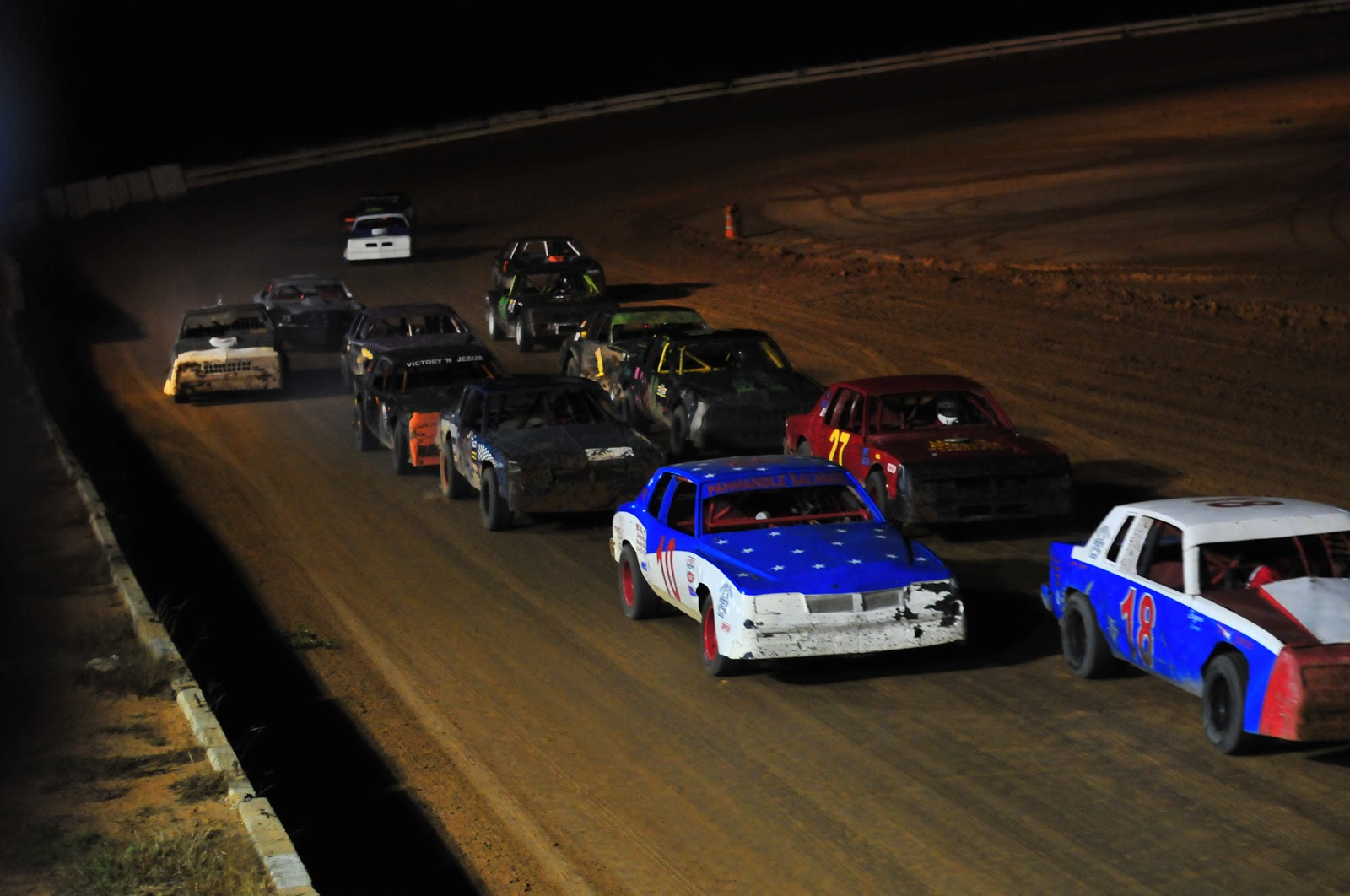 Deep Dixie Racing: Videos: Dixieland Dirt Track 7/19/13