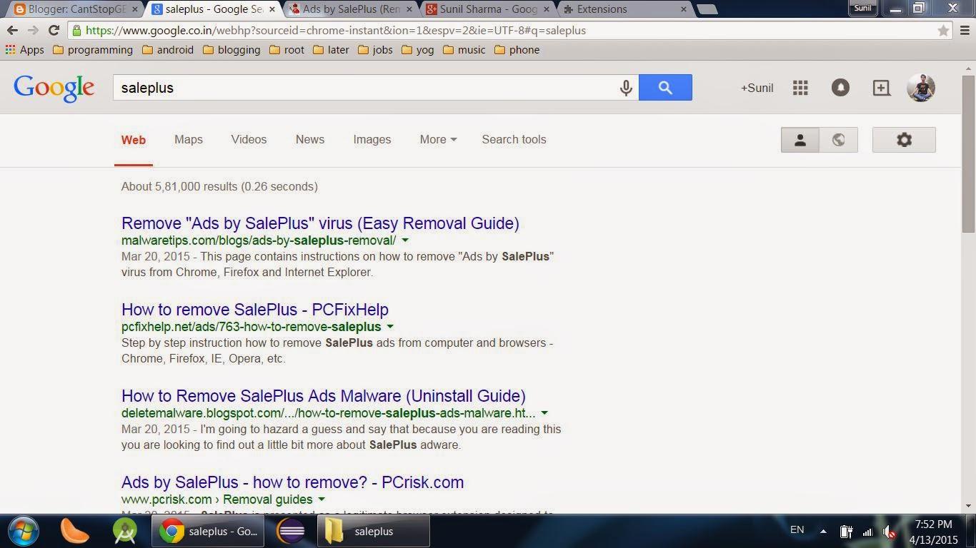 SalePlus google
